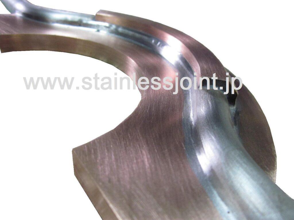 テンレス(SUS316L)+無酸素銅(C1020)極低温ヘリウム冷却配管