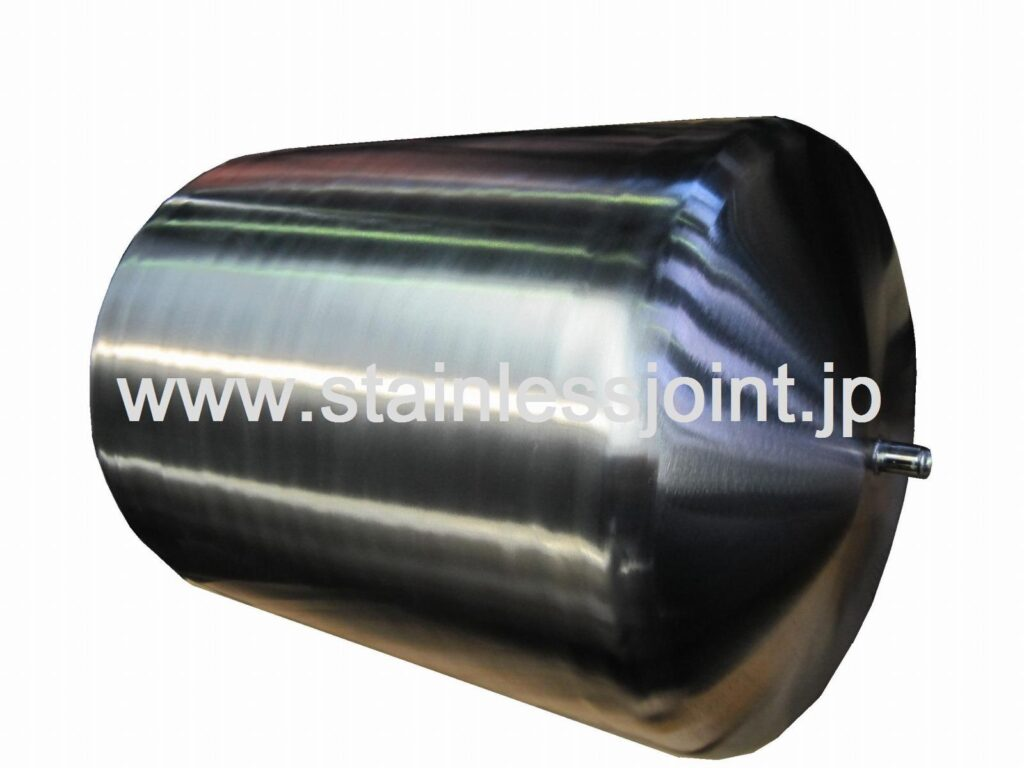 ステンレス(SUS316L)極低温装置用液体ヘリウム容器
